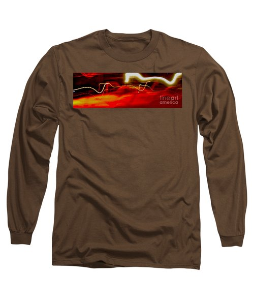 Blip Long Sleeve T-Shirt by Xn Tyler