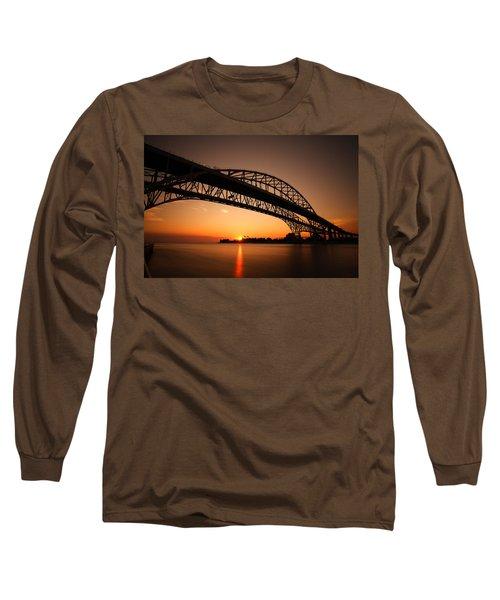 Long Sleeve T-Shirt featuring the photograph Blue Dawn by Gordon Dean II