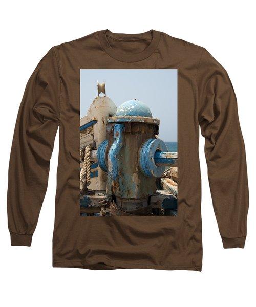 Blue Mooring Long Sleeve T-Shirt