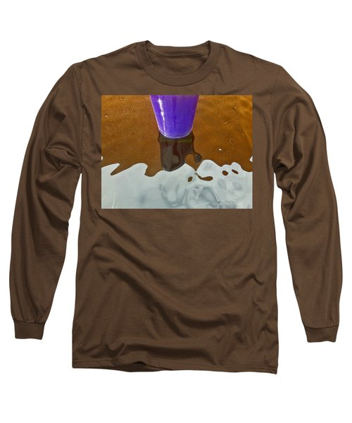 Long Sleeve T-Shirt featuring the photograph Blue Planter by David Pantuso