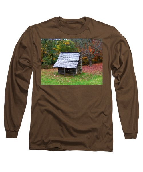Blue Ridge Cabin Long Sleeve T-Shirt