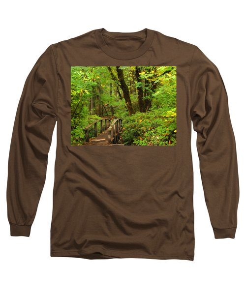 Bridge To A Fairytale Long Sleeve T-Shirt