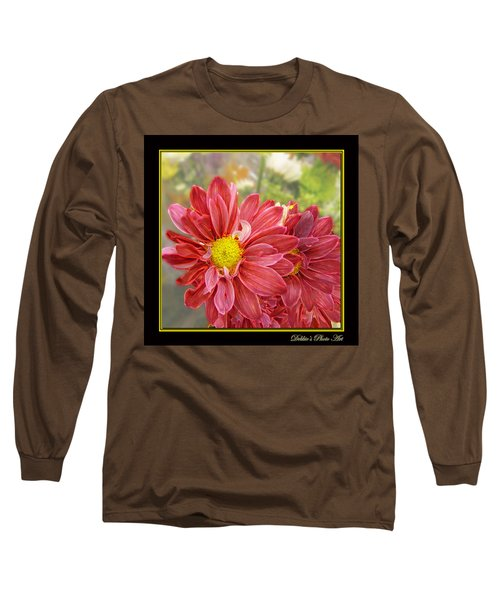 Long Sleeve T-Shirt featuring the digital art Bright Edges by Debbie Portwood
