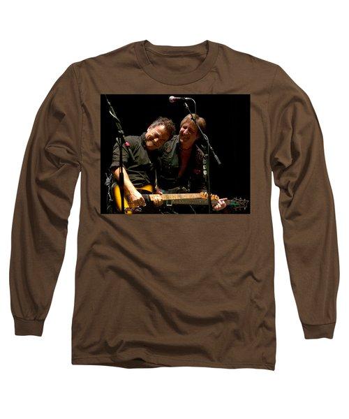 Bruce Springsteen And Danny Gochnour Long Sleeve T-Shirt