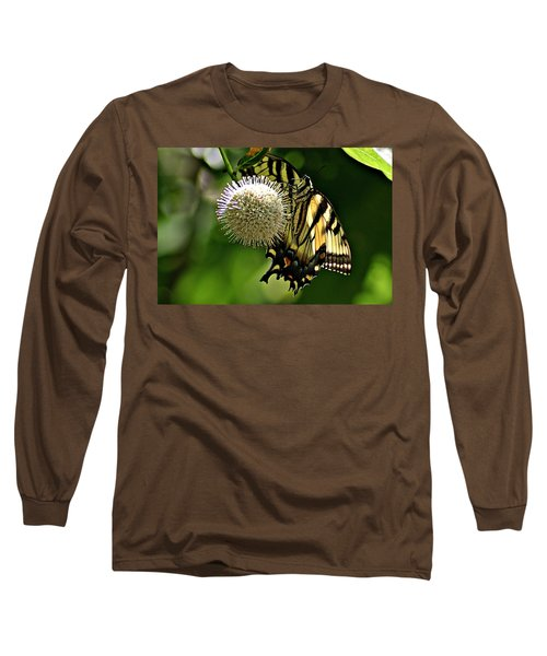 Butterfly 3 Long Sleeve T-Shirt by Joe Faherty