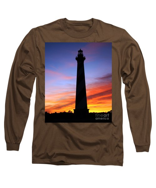 Cape Hatteras Sunset Long Sleeve T-Shirt