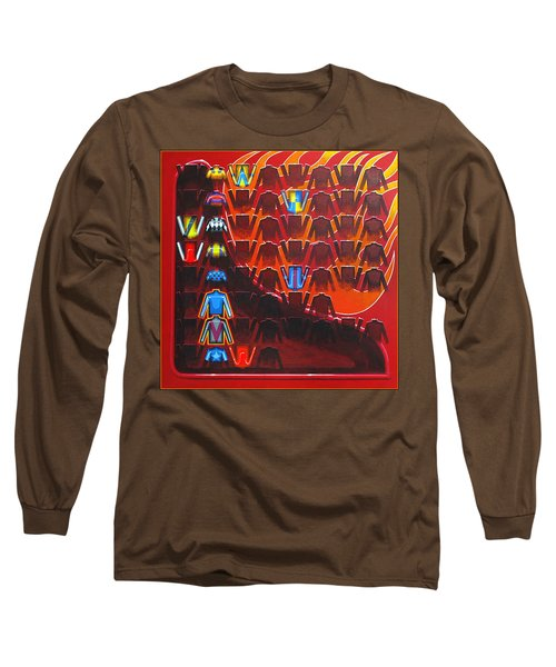 Long Sleeve T-Shirt featuring the painting Cause Celebre by Mark Howard Jones