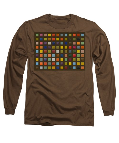 Collage Color Study Lll Long Sleeve T-Shirt
