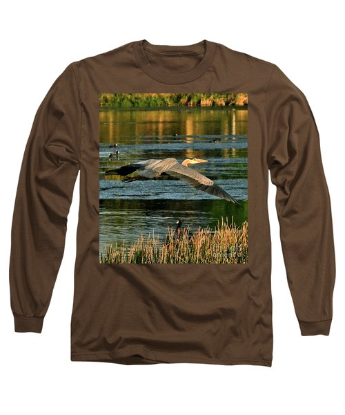 Colorful Evening Flight Long Sleeve T-Shirt