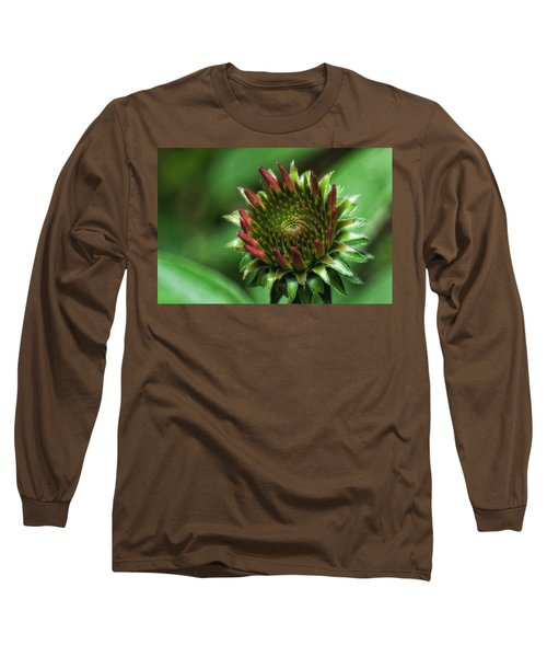 Coneflower Close-up Long Sleeve T-Shirt