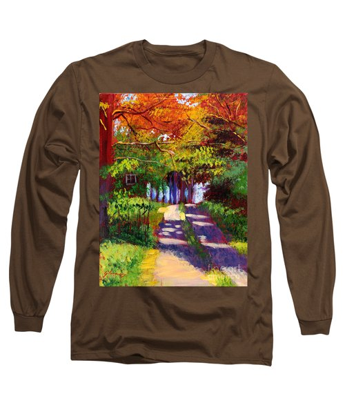 Cool Country Land Plein Air Long Sleeve T-Shirt