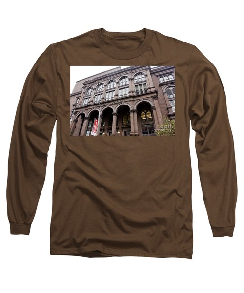 Cooper Union Long Sleeve T-Shirt by David Bearden