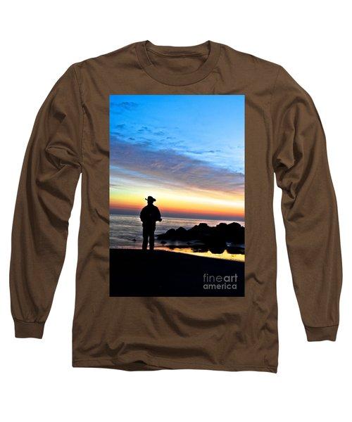 Cowboy Sunrise Long Sleeve T-Shirt