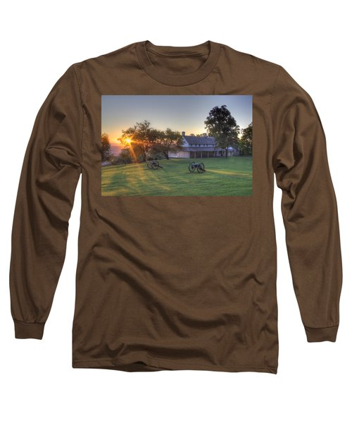 Cravens House Long Sleeve T-Shirt by David Troxel