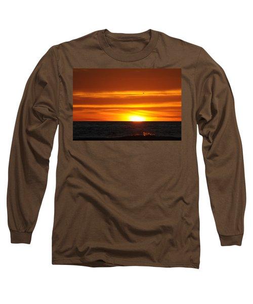 Crimson Sunset Long Sleeve T-Shirt