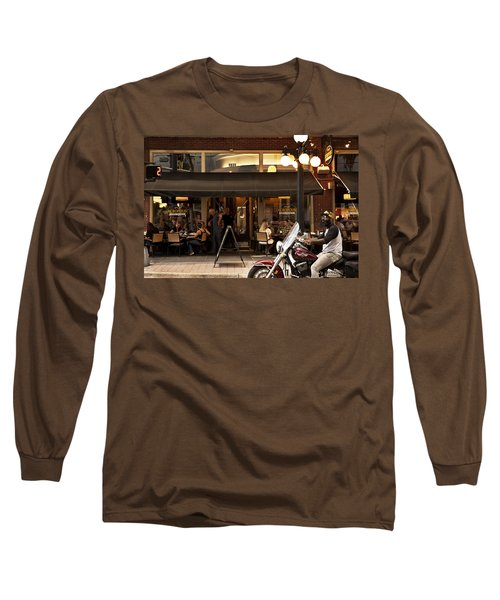 Long Sleeve T-Shirt featuring the photograph Crusin' Ybor by Steven Sparks