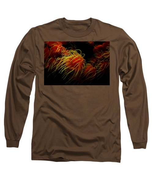 Deep Ocean Coral Polyp Long Sleeve T-Shirt