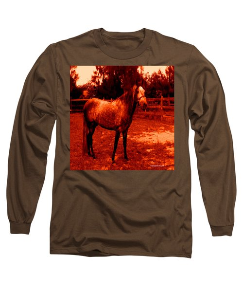 Long Sleeve T-Shirt featuring the photograph Defiance by George Pedro