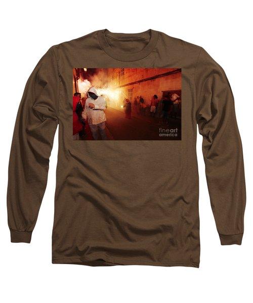 Demons In The Street Long Sleeve T-Shirt