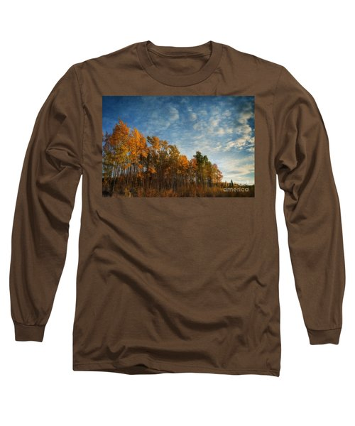 Dressed In Autumn Colors Long Sleeve T-Shirt