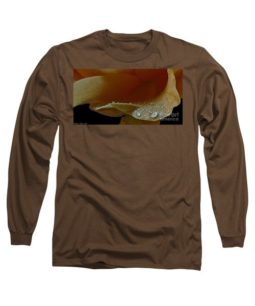 Long Sleeve T-Shirt featuring the photograph Drops Of Light by Debbie Portwood