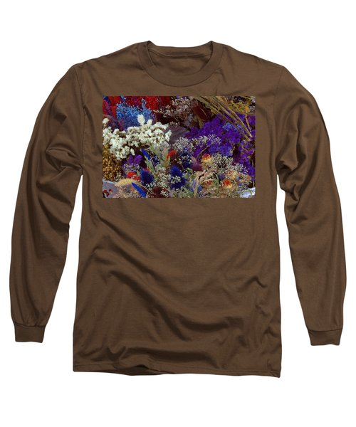 Long Sleeve T-Shirt featuring the mixed media Early In The Cycle by Terence Morrissey