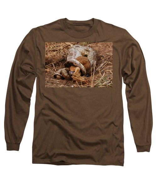 Long Sleeve T-Shirt featuring the photograph Entrapped by Fotosas Photography