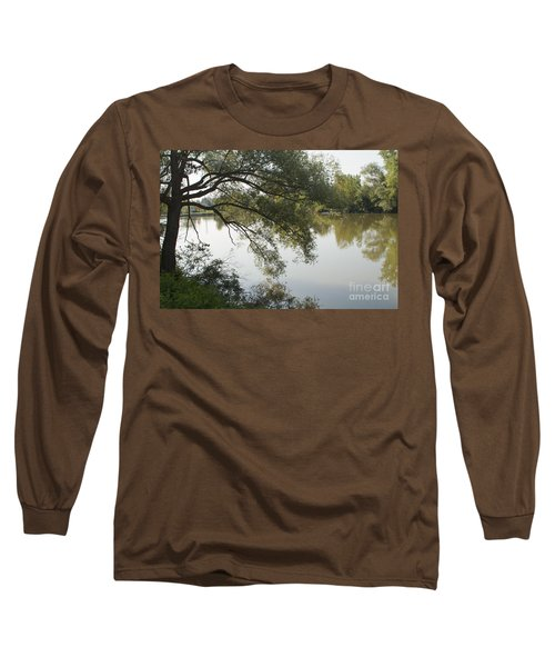 Long Sleeve T-Shirt featuring the photograph Erie Canal Turning Basin by William Norton
