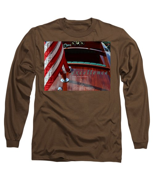 Excellence Long Sleeve T-Shirt