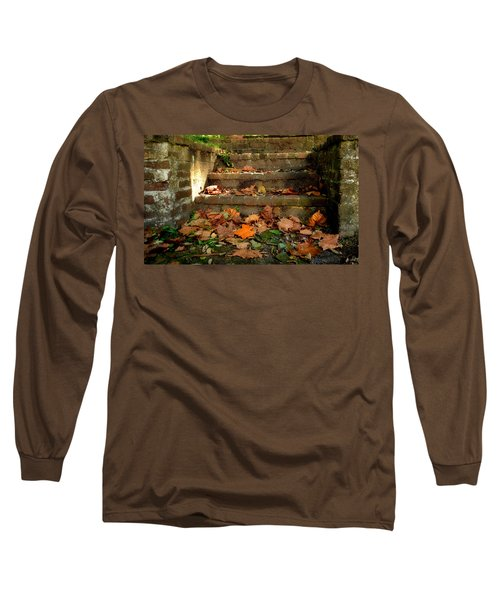 Long Sleeve T-Shirt featuring the photograph Fall by Brian Hughes