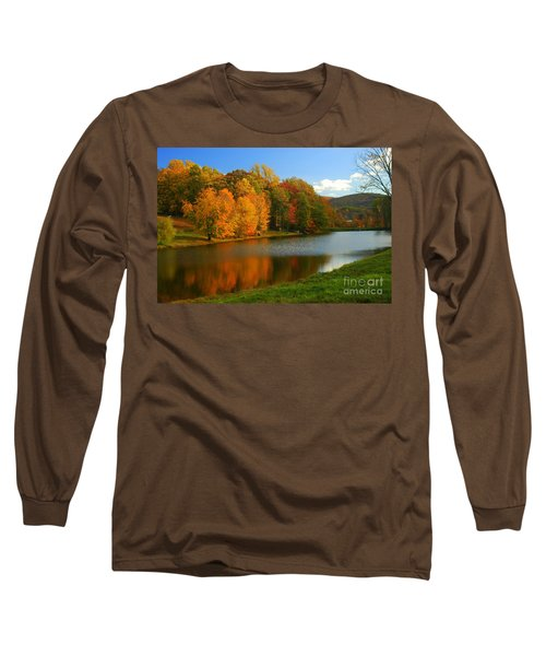 Fall In New York State Long Sleeve T-Shirt