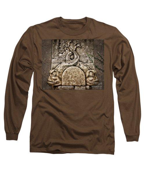 Fish Astrology Long Sleeve T-Shirt by Danuta Bennett