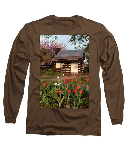 Long Sleeve T-Shirt featuring the photograph George Washington's House by Jeannette Hunt
