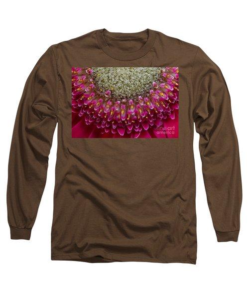 Gerbera Macro Long Sleeve T-Shirt by Jim and Emily Bush