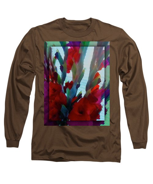 Long Sleeve T-Shirt featuring the digital art Glad by Richard Laeton
