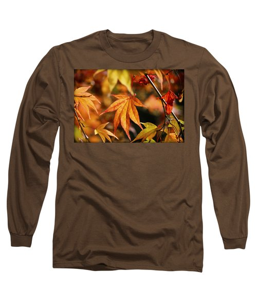 Long Sleeve T-Shirt featuring the photograph Golden Fall. by Clare Bambers
