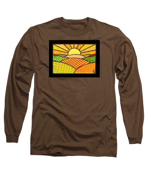 Good Day Sunshine Long Sleeve T-Shirt by Jim Harris