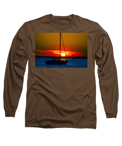 Long Sleeve T-Shirt featuring the photograph Good Night by Shannon Harrington