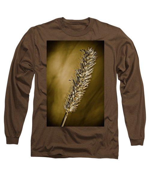 Grass Seedhead Long Sleeve T-Shirt