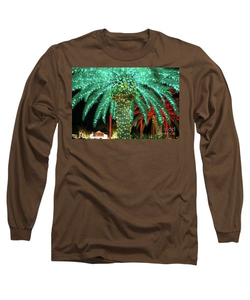 Green Palms Long Sleeve T-Shirt