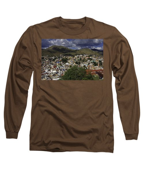 Guanajuato Vista No. 1 Long Sleeve T-Shirt by Lynn Palmer