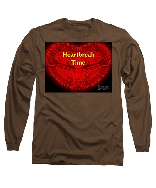 Long Sleeve T-Shirt featuring the photograph Heartbreak by Blair Stuart