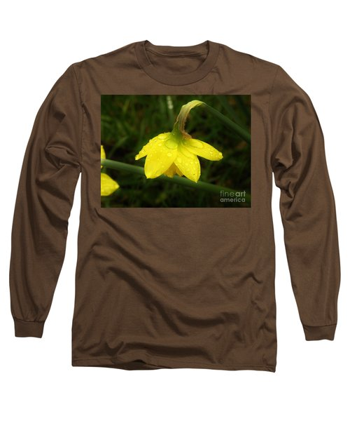 Long Sleeve T-Shirt featuring the photograph Heavy With Water by Sherman Perry