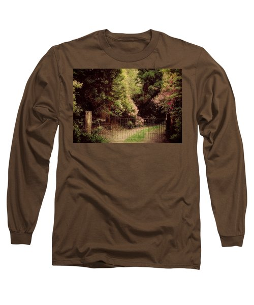 Long Sleeve T-Shirt featuring the photograph Hidden Garden by Marilyn Wilson