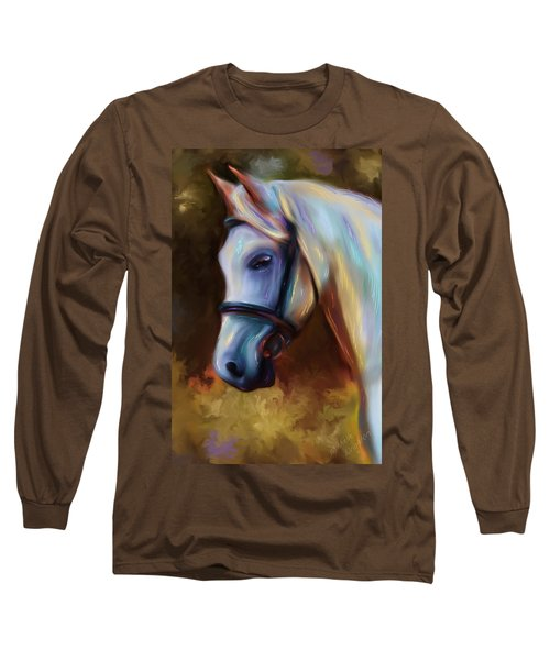 Horse Of Colour Long Sleeve T-Shirt