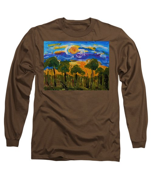 Intense Sky And Landscape Long Sleeve T-Shirt