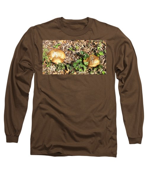 Long Sleeve T-Shirt featuring the photograph Invasive Shrooms by Pamela Hyde Wilson