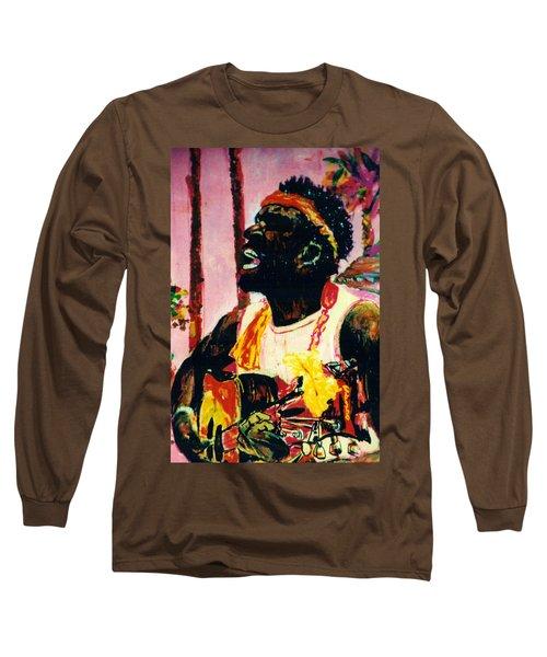 Jazz Musician Long Sleeve T-Shirt