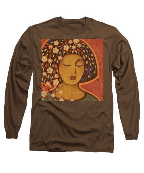 Long Sleeve T-Shirt featuring the painting Kali by Gloria Rothrock