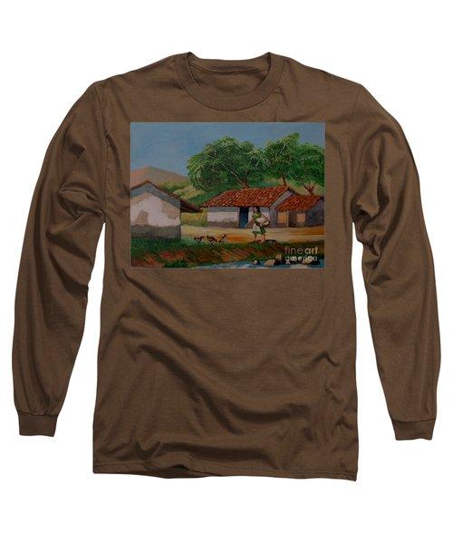 La Dama Del Rio Long Sleeve T-Shirt